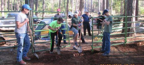Eagle Scouts replacing corrals