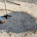 Filling a pot hole