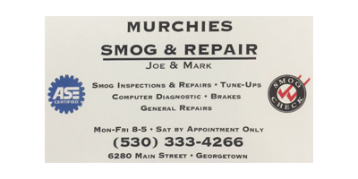 Murchie's Smog and Repair